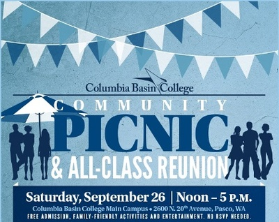 Columbia Basin College Community Picnic & All Class Reunion Pasco, Washington