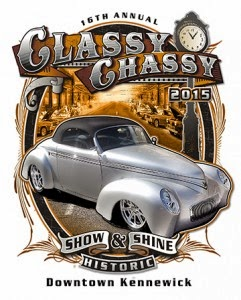 16th Annual Classy Chassy Show & Shine Downtown Kennewick, Washington