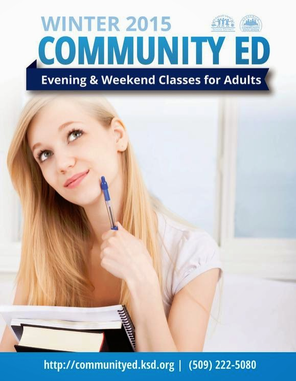 Community Education Classes Registration For The Winter 2015 Kennewick, Washington
