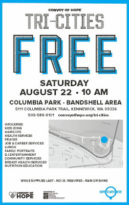 Convoy of Hope - Free Services At Columbia Park In Kennewick, Washington