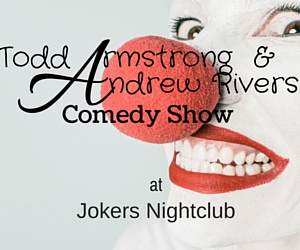 Todd Armstrong & Andrew Rivers Comedy Show: Laugh Your Stress Away | Richland, WA