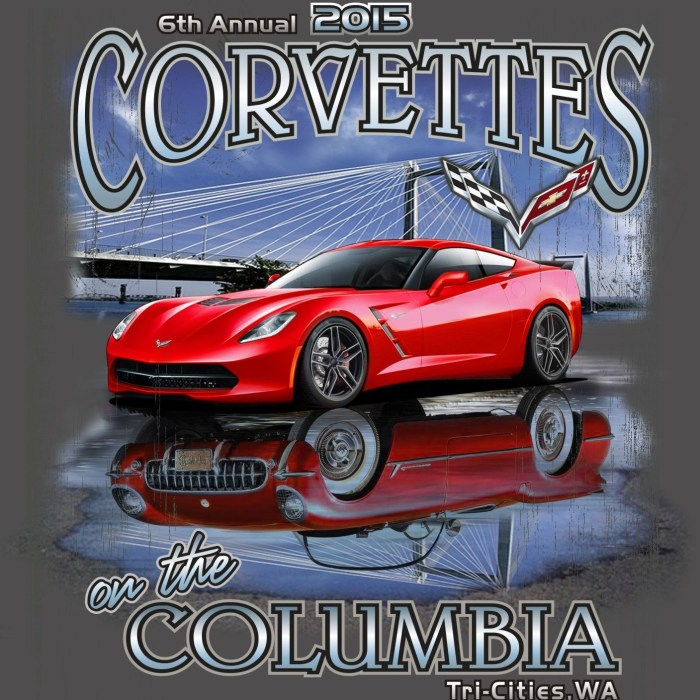 6th Annual Corvettes On The Columbia Tri Cities, Washington