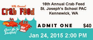 16th Annual Crab Feed St. Joseph's School PAC In Kennewick, Washington