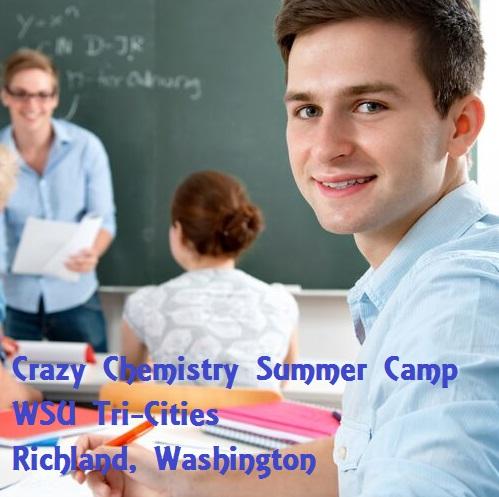 Crazy Chemistry - Summer Camp WSU Tri-Cities Richland, Washington