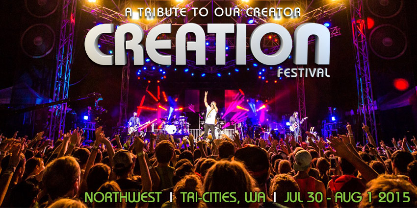 The Creation Music Festival Northwest Live In Kennewick, Washington 2015