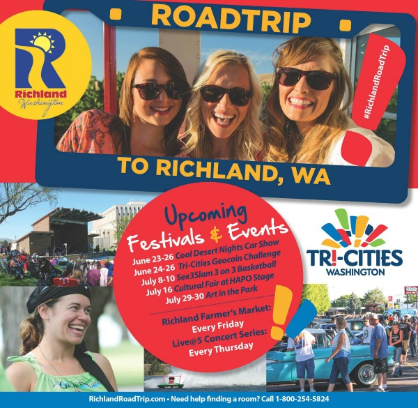 City of Richland, Washington Outdoor Cultural Fair: A Celebration of the City's Diverse Cultures Featuring Fun and Educational Activities