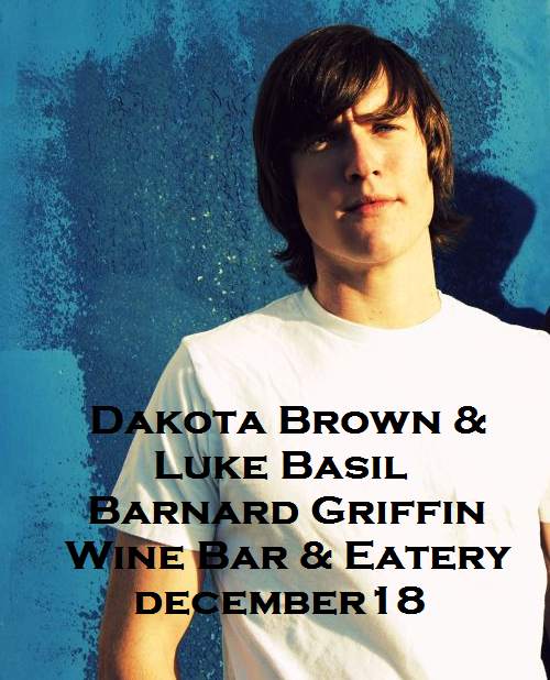 Dakota Brown & Luke Basil At The Barnard Griffin Wine Bar & Eatery Richland, Washington