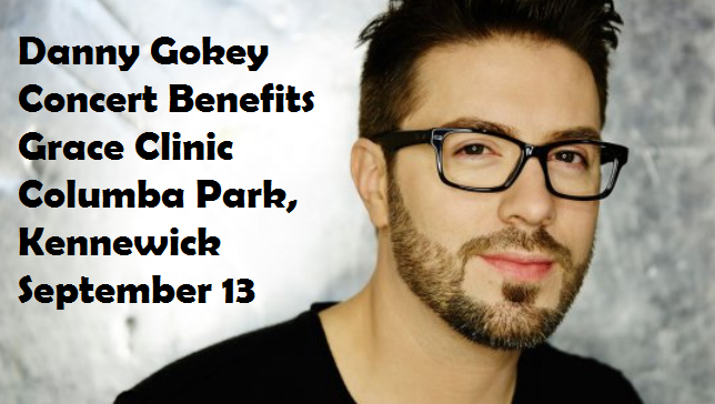 Danny Gokey Concert Benefits Grace Clinic Columba Park, Kennewick Washington