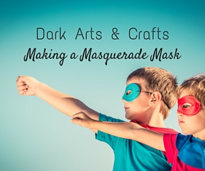 Dark Arts & Crafts - Making a Masquerade Mask | Embellishing Hand-Made Mask in Richland, W