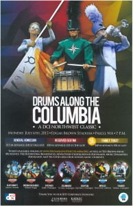 Drums Along The Columbia Edgar Brown Stadium Pasco, Washington