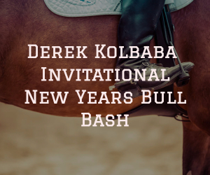 Derek Kolbaba Invitational New Year's Eve Bull Bash at TRAC Center | Pasco WA