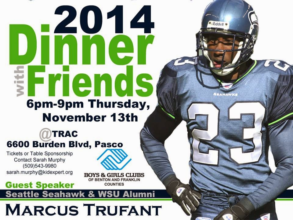 Dinner With Friends: Benefit For BGCBFC At The TRAC Pasco, Washington