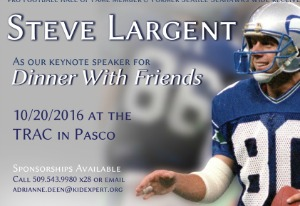 Dinner With Friends: Boys & Girls Club's Premier Fundraising Event Featuring Steve Largent | Pasco, WA