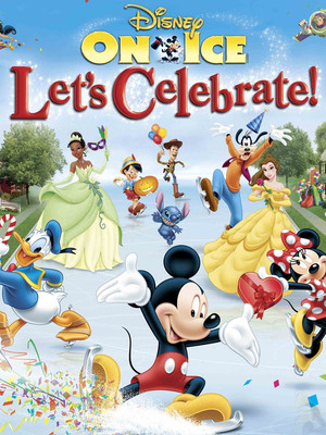 Disney On Ice: Let's Celebrate, Toyota Center In Kennewick, Washington