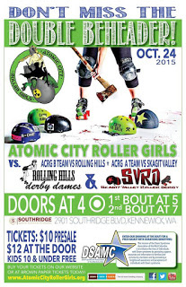 Atomic City Roller Girls Present