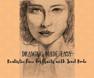 Drawing Made Easy: Realistic Face Portraits with Jenel Bode | Wet Palette Studio in Richland, WA