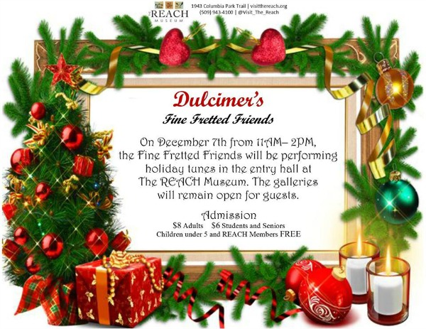 Dulcimer's Fine Fretted Friends To Play Holiday Music | The REACH in Richland