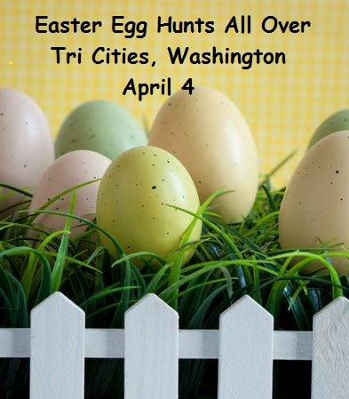 Easter Egg Hunts All Over Tri Cities, Washington