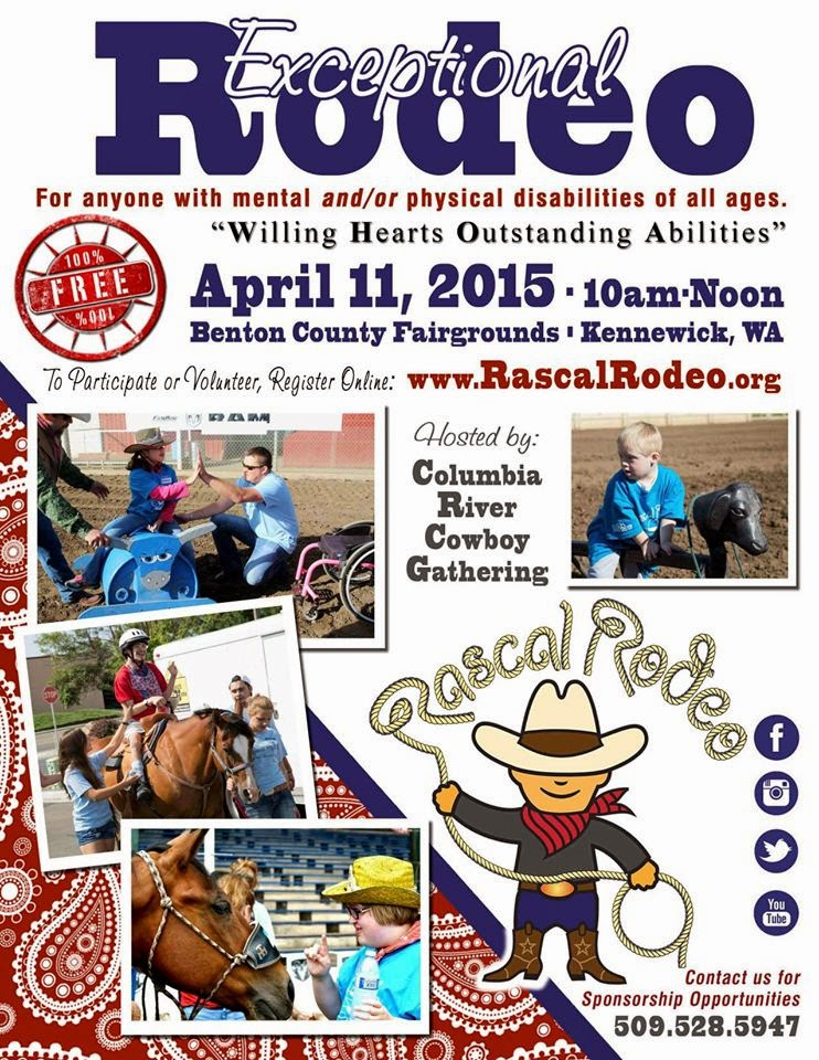 Little Rascals Exceptional Rodeo Benton County Fairgrounds Kennewick, Washington