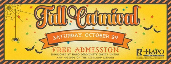 Fall Carnival Presented by the Richland Washington Parks and Recreation and HAPO Credit Union