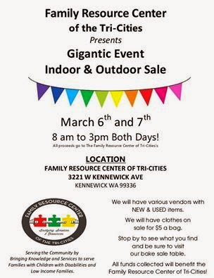 Family Resource Center - Gigantic Indoor/Outdoor Sale Kennewick  Washington