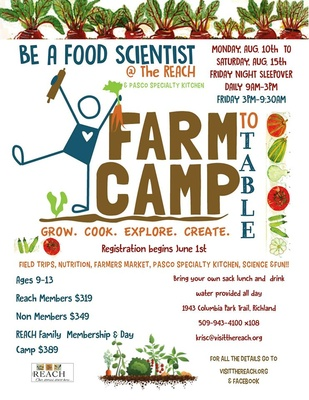 Be A Food Scientist: Science of Food from Farm to Table Richland WA
