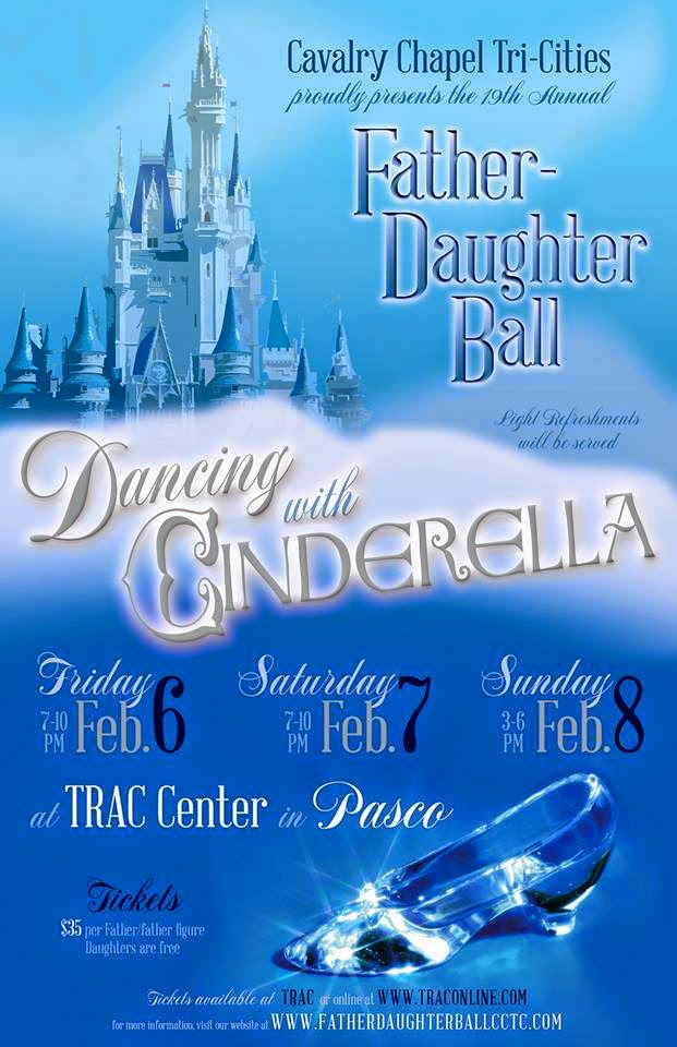 Father-Daughter Ball At The TRAC Center In Pasco, Washington