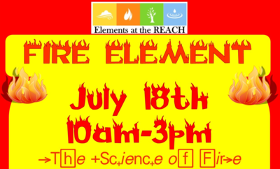 Fire Element: The Science Of Fire At The REACH In Richland, WA