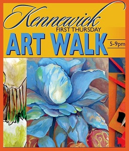 First Thursday Art Walk In Downtown Kennewick, Washington