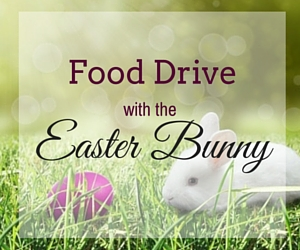 Food Drive with the Easter Bunny: Help Feed More Families This Year | Kidz Biz Salonz in Richland, WA