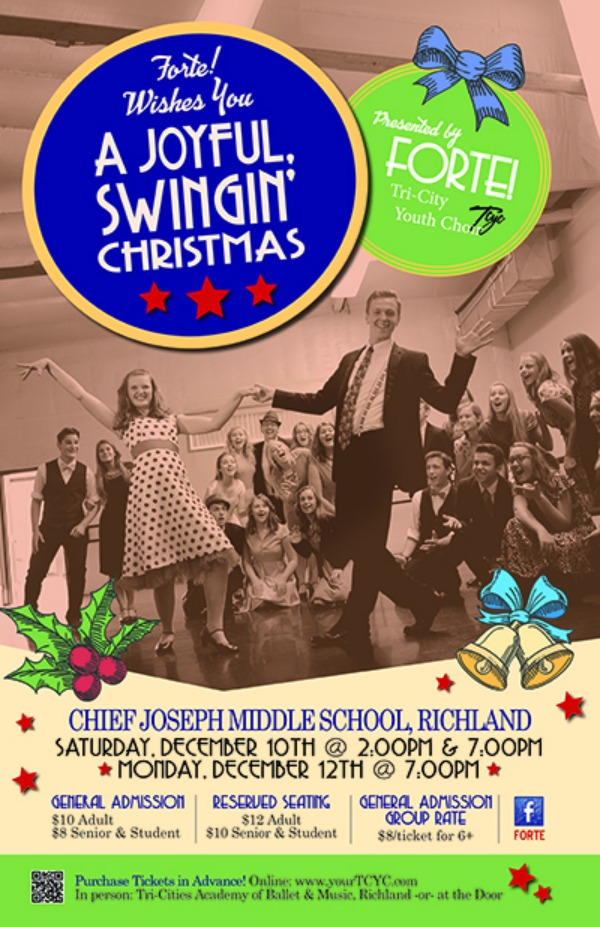 Forte! A Joyful, Swingin' Christmas Show: Celebrate Classic Holiday Music - Presented by the Tri-City Youth Choir | Richland, WA