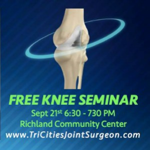 New Technologies in Knee Replacement: A Presentation on Knee Conditions and Treatment | Richland Washington Community Center