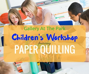 Gallery At The Park Children's Workshop Featuring Paper Quilling: Mosaic and Pictures Made of Paper Coils | Richland, WA