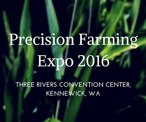 Precision Farming Expo 2016 at Three Rivers Convention Center | Kennewick, WA