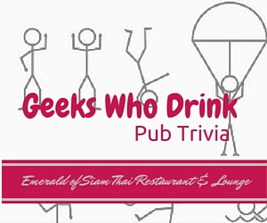 Geeks Who Drink - Pub Trivia at Emerald of Siam Thai Restaurant and Lounge | Richland, WA