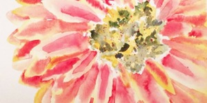 Wet Palette Paint Party With Gerber Daisy In Pasco, Washington