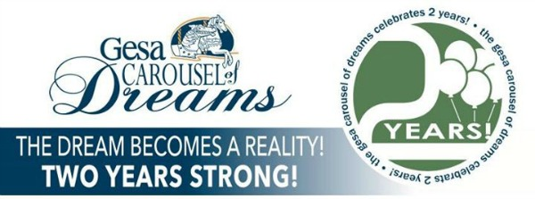 Gesa Carousel of Dreams 2nd Anniversary: The Dream Becomes A Reality! Two Years Strong | Kennewick, WA