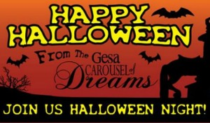Halloween Celebration at Gesa Carousel of Dreams: A Spooktacular Time of Free Rides, Costumes and Trick or Treat | Kennewick