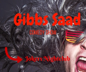 Gibbs Saad Comedy Show at Jokers Nightclub : Frolic All Night | Richland, WA