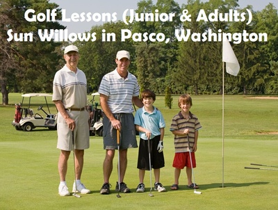 Golf Lessons (Junior & Adults) Sun Willows in Pasco, Washington