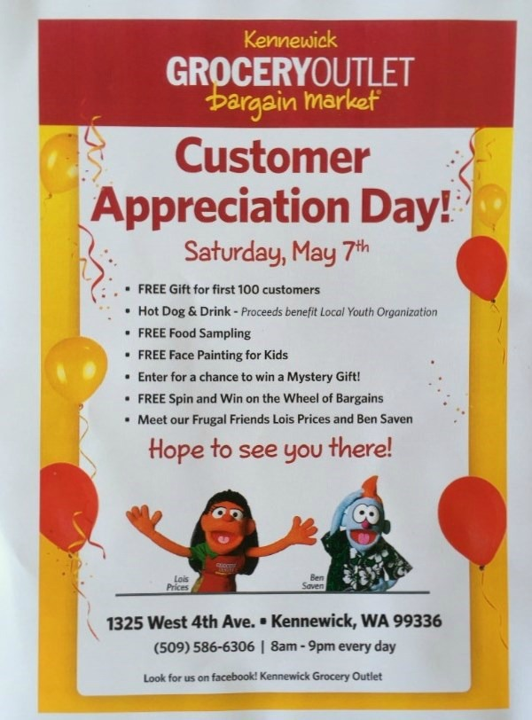 Kennewick WA Grocery Outlet - Bargain Market Presents the 'Customer Appreciation Day': An All-Day Treat for Avid Shoppers
