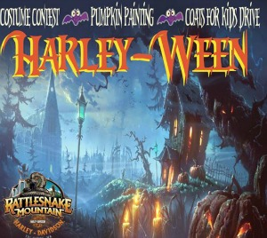 2nd Annual Harley-Ween: A Halloween Event and Coat Drive for Kids Presented by the Rattlesnake Mountain Harley-Davidson | Kennewick
