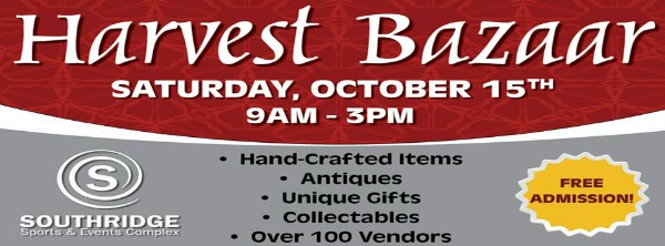 26th Harvest Bazaar - Shop Until You Drop at Southridge Sports and Events Complex in Kennewick