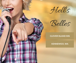 Hell's Belles Setting the Clover Island on Fire with Ardent Hard Rock Performances | Kennewick
