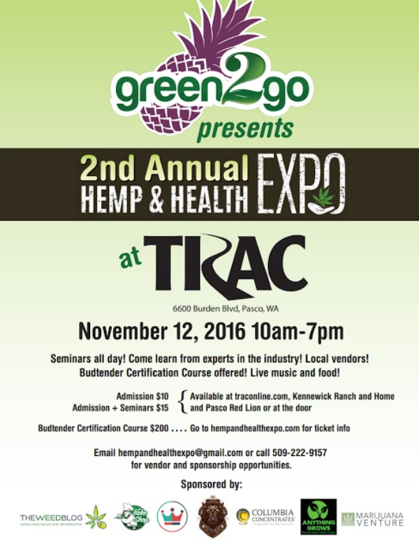 2nd Annual Hemp And Health Expo Breaking The Stigma About Cannabis