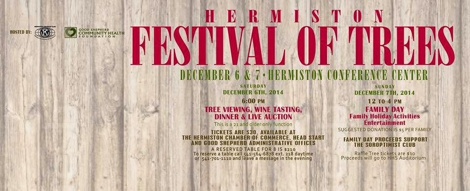Festival Of Trees At The Hermiston Conference Center, Washington
