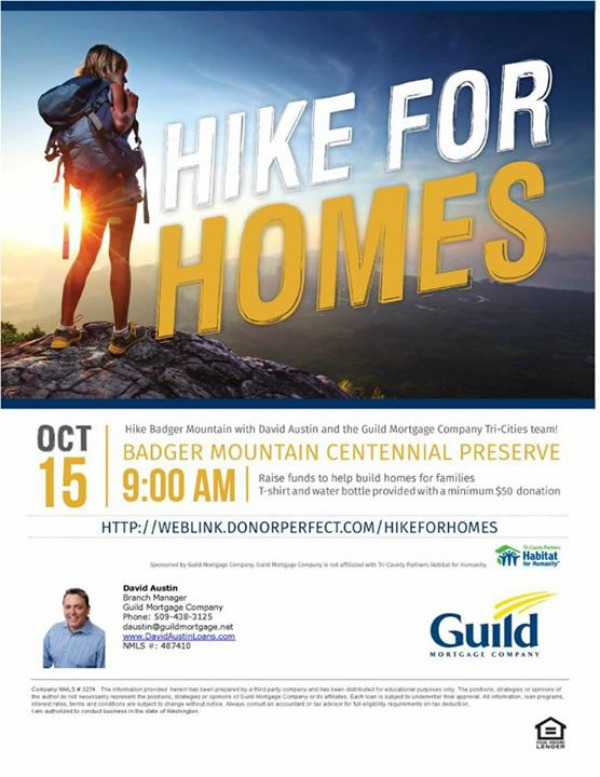 Hike for Homes | Habitat for Humanity at Badger Mountain Trail | Richland, WA