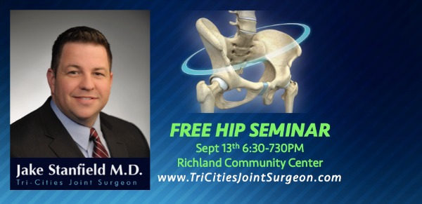 Tri-Cities Joint Surgeon Presents New Technologies in Hip Replacement | Richland Washington Community Center