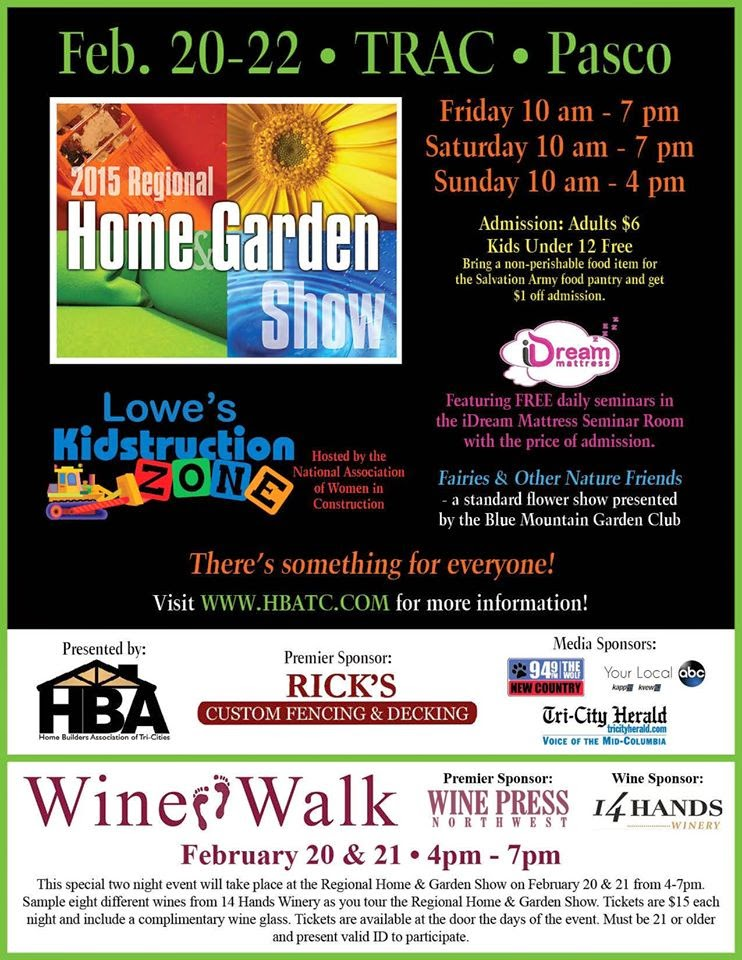 Home And Garden Show At The TRAC Center In Pasco, Washington