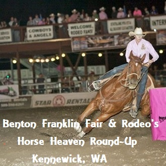 Benton Franklin Fair & Rodeo's Horse Heaven Round-Up Kennewick, Washington
